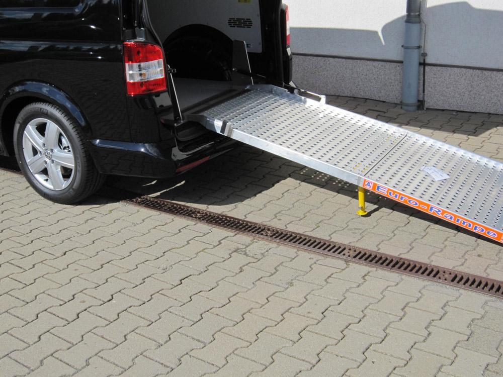 Rehamobile auffahrrampe rollstuhlbef rderung - Rampe bauen fur rollstuhl ...