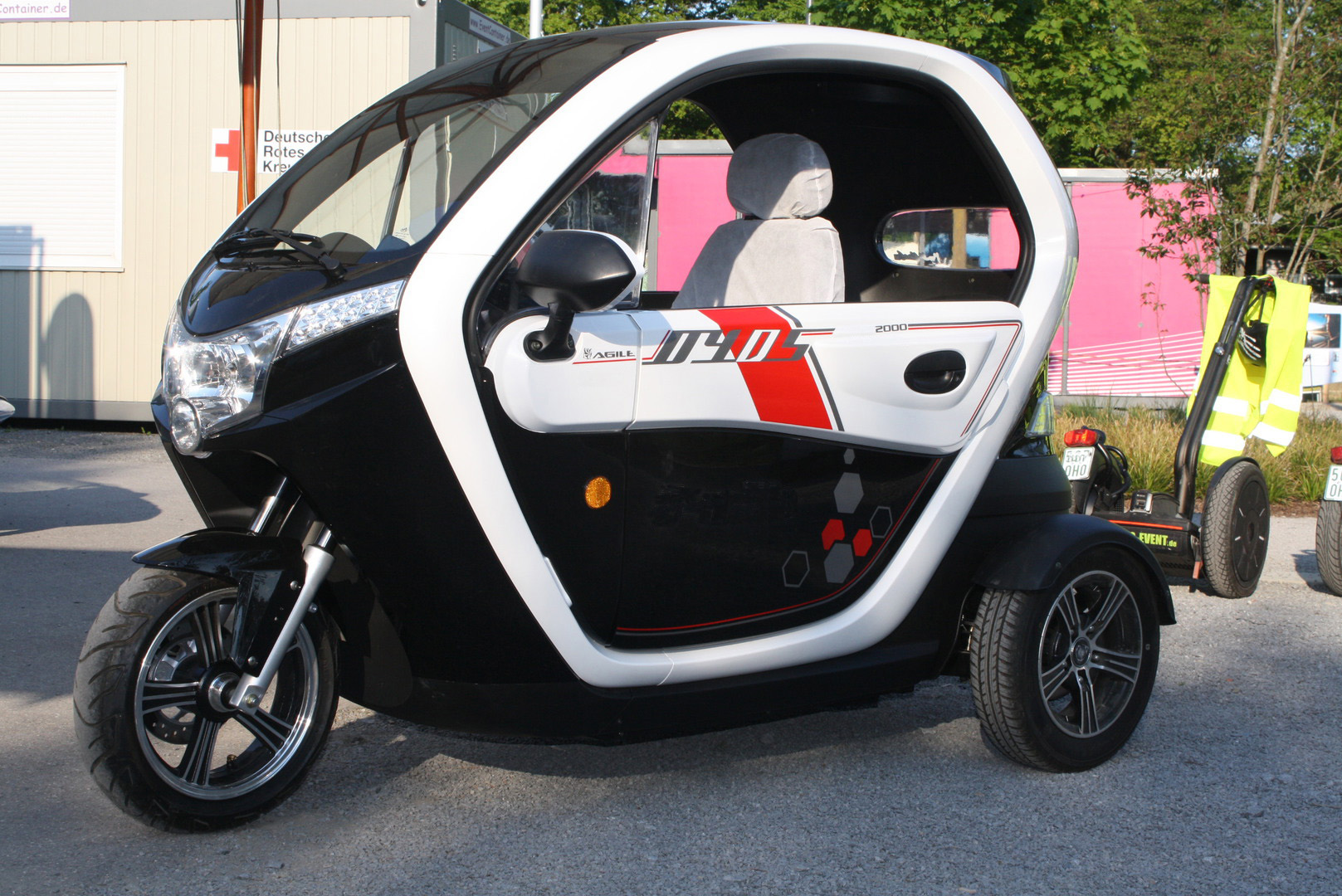 Rad führerschein 3 auto Peugeot Metropolis